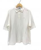 LACOSTE(ラコステ)の古着「ワイドポロシャツ」|ホワイト