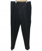 THE GIGI(ザ・ジジ)の古着「TONGA ポリエステルツイル1Pテーパードパンツ」|ブラック