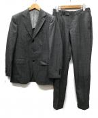 BEAMS F(ビームスエフ)の古着「CANONICO 3Bセットアップ スーツ」|グレー