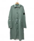 AIGLE(エーグル)の古着「撥水ワッシャータッチコート」|グリーン
