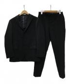 RING JACKET(リングジャケット)の古着「3Bセットアップスーツ」 ブラック