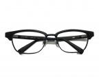 999.9(フォーナインズ)の古着「M-15 サーモント ブロー フレーム  眼鏡」|マットブラック