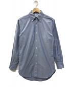 ()の古着「USA製 makers ボタンダウンシャツ」|ブルー