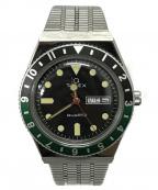 TIMEX(タイメックス)の古着「TIMEX Qダイバーズルック リストウォッチ 腕時計」