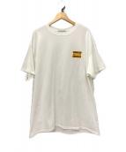 ()の古着「毎日が特集で!トップニュース Tシャツ」|ホワイト