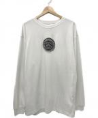 NIKE × STUSSY(ナイキ × ステューシー)の古着「コラボ LINK LS TEE Tシャツ」|ホワイト