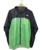 ()の古着「ストライクトレイルフーディ ジャケット」|グリーン×ブラック