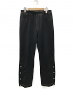 WESTOVERALLS(ウエストオーバーオールズ)の古着「EASY JERSEY PANTS パンツ」 ブラック