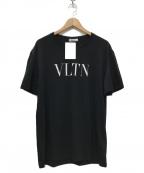 VALENTINO(ヴァレンティノ)の古着「20AW VLTN Logo Printed Tee」 ブラック