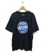 TENDERLOIN(テンダーロイン)の古着「GENUINE PARTS TEE ロゴTシャツ」|ブラック