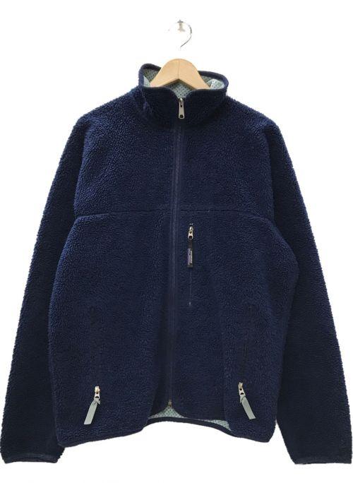 Patagonia(パタゴニア)Patagonia (パタゴニア) USA製 Retro Cardigan フリースジャケット ネイビー サイズ:Mの古着・服飾アイテム
