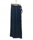 ISABEL MARANT ETOILE(イザベルマランエトワール)の古着「ラップスカート」 ブルー