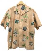 flagstuff(フラグスタフ)の古着「21SS CACTUS S/S SHIRTS シャツ」|ベージュ