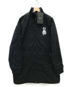 CUNE(キューン)の古着「しろくまのロングブルゾン」|ブラック