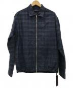 THE GIGI(ザ・ジジ)の古着「AKIKO スイングトップ ジャケット」|ネイビー
