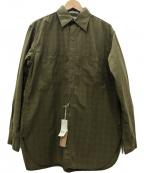 orSlow(オアスロウ)の古着「VINTAGE FIT WORK SHIRTS シャツ」|GREEN CHECK