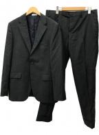 BOGLIOLI(ボリオリ)の古着「SFORZAサイドベンツ2Bセットアップスーツ」|グレー