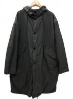 ()の古着「Souvenir Hunter packable コート」 グレー