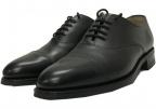 Lloyd footwear(ロイドフットウェア)の古着「キャップオックスフォードシューズ」|ブラック