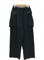 SCAIR(スケアー)の古着「BRUSHED INLAY M-43 PANTS」|ブラック