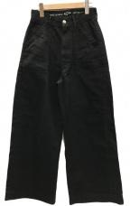 45R(フォーティファイブアール)の古着「ワイドベイカーパンツ」|ブラック