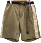 sacai × GRAMICCI(サカイ×グラミチ)の古着「20SSコラボショートパンツ」|ベージュ×パープル