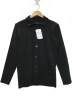 agnes b(アニエスベー)の古着「VESTE コットンワークジャケット」|ブラック