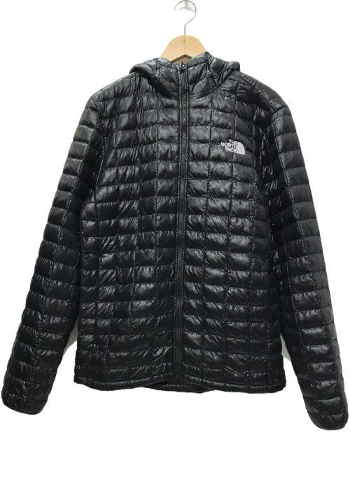 THE NORTH FACE(ザ ノース フェイス)THE NORTH FACE (ザ ノース フェイス) Thermoball Eco Hooded ジャケット ブラック サイズ:Mの古着・服飾アイテム