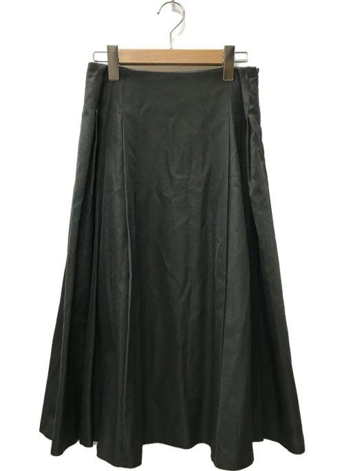 BALLSEY(ボールジィー)BALLSEY (ボールジィー) グローグログラン サイドタックスカート グリーン サイズ:36の古着・服飾アイテム