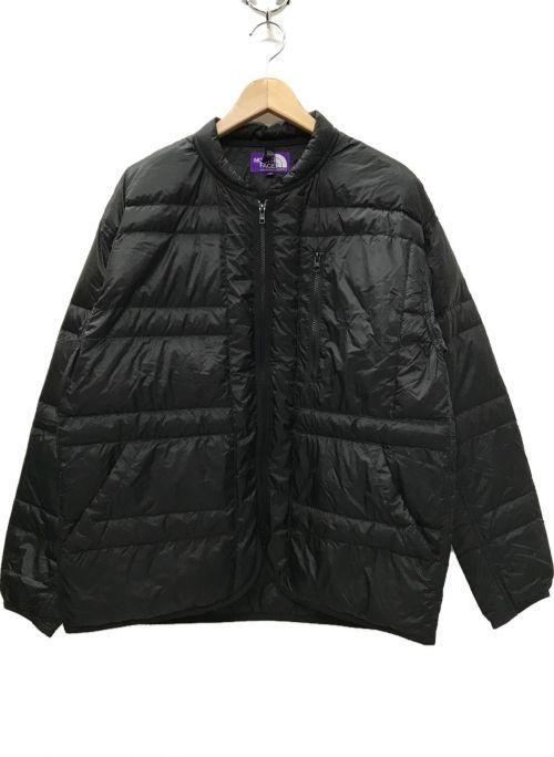 THE NORTHFACE PURPLELABEL(ザノースフェイス パープルレーベル)THE NORTHFACE PURPLELABEL (ザノースフェイス パープルレーベル) FIELD DOWN JACKET ブラック サイズ:Mの古着・服飾アイテム