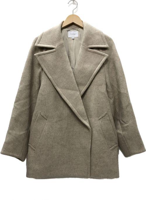 BEAUTY&YOUTH UNITED ARROWS(ビューティーアンドユースユナイテッドアローズ)BEAUTY&YOUTH UNITED ARROWS (ビューティーアンドユースユナイテッドアローズ) MANTECOメルトンメランジミドル丈コート ナチュラル サイズ:Mの古着・服飾アイテム
