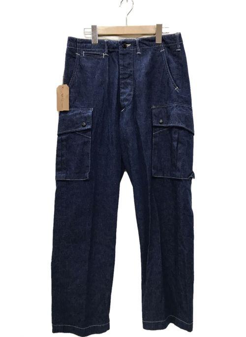 orSlow(オアスロウ)orSlow (オアスロウ) デニムカーゴパンツ インディゴ サイズ:Mの古着・服飾アイテム