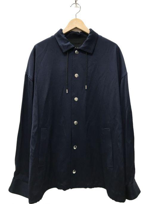 CINOH(チノ)CINOH (チノ) 21AW TWILL COACH JACKET ネイビー サイズ:48の古着・服飾アイテム