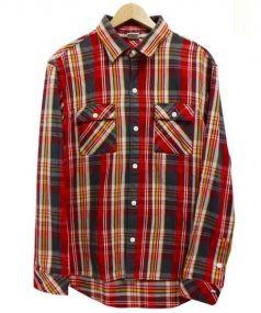 Ron Herman(ロンハーマン)の古着「ヘビーネルシャツ」|レッド