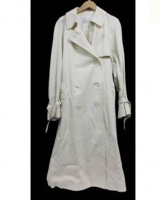 STEVEN ALAN(スティーブンアラン)の古着「ルーズトレンチコート」|ベージュ