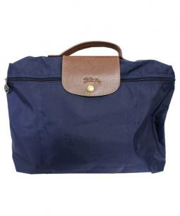 LONGCHAMP(ロンシャン)の古着「ハンドバッグ」|ネイビー