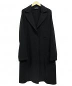 SHIZUKA KOMURO(シズカコムロ)の古着「チェスターコート」|ブラック