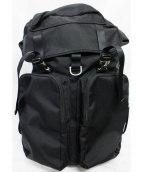LORINZA(ロリンザ)の古着「Double Pocket Backpack Black」|ブラック