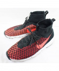 NIKE()の古着「AIR FOOTSCAPE MAGISTA FLYKNIT」|レッド