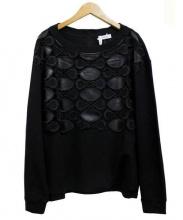 MAX&Co.(マックスアンドコー)の古着「スウェットシャツ」|ブラック