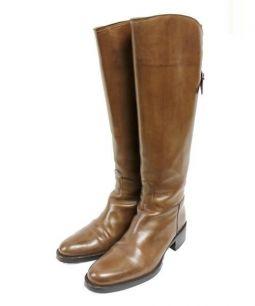 SARTORE(サルトル)の古着「バックジップロングブーツ」|ブラウン