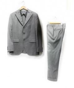 BOGLIOLI(ボリオリ)の古着「3Bスーツ」 グレー