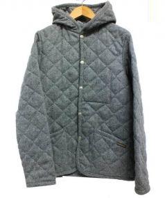 LAVENHAM(ラベンハム)の古着「キルティングジャケット」|グレー