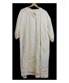 nest Robe(ネストローブ)の古着「リネンワンピース」|ホワイト