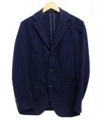 Cantarelli(カンタレリ)の古着「ウール3Bジャケット」|ネイビー