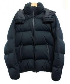 DESCENTE(デサント)の古着「水沢ダウンジャケット」|ブラック
