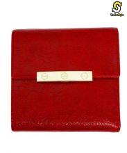 Cartier(カルティエ)の古着「3つ折り財布」|レッド