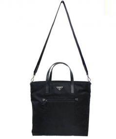 PRADA(プラダ)の古着「2WAYトートバッグ」|ブラック