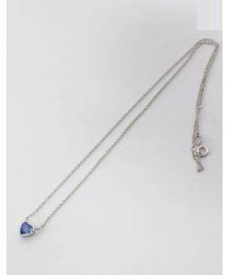 Myia Passiello(マイヤ パッシェロ)の古着「ネックレス」 シルバー×ブルー