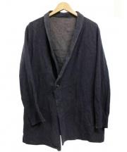 THE Sakaki(ザ サカキ)の古着「居間着ジャケット」|グレー